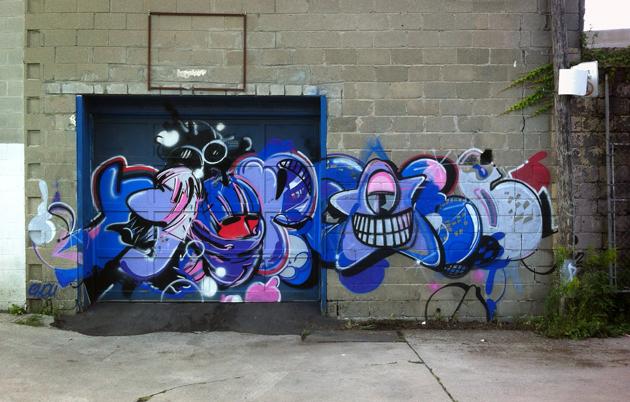 chou yippee graffiti