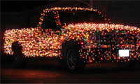 Christmas Light Truck
