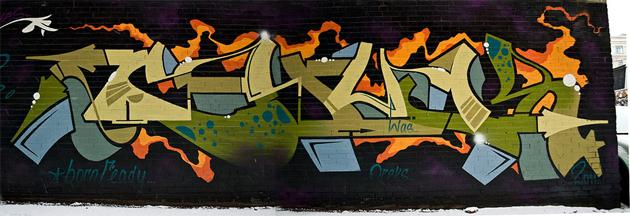 chuck graffiti toronto