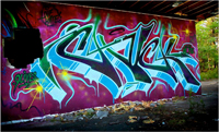 Chuck Graffiti Photos