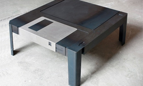3.5″ Floppy Disk Coffee Table