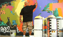 Cope2 Painting In LA