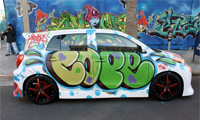 Cope2 Graffiti On A Scion