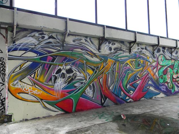 cortes graffiti