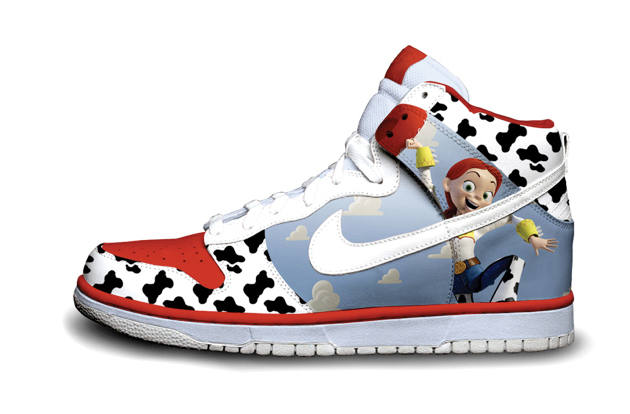cowboy nike dunks toy story