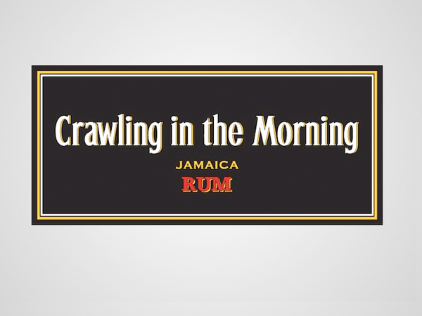 crawling in the morning