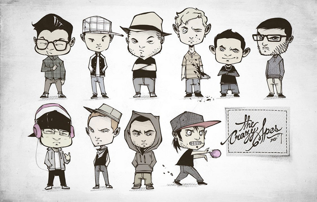 Youtube Crew Drawing Crew Cartoon Drawing