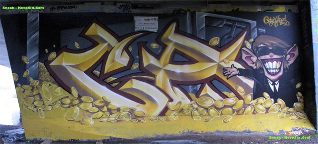 crazy apes graffiti ottawa