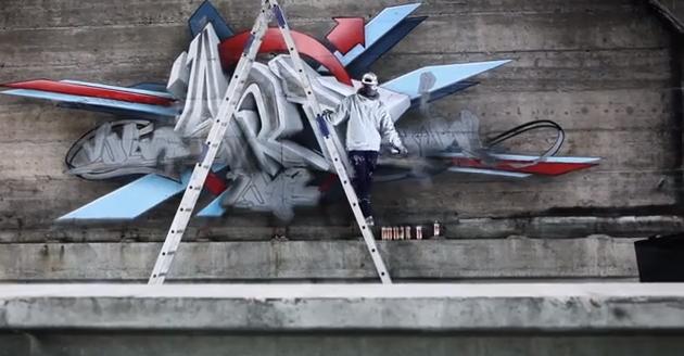 daim graffiti volvo