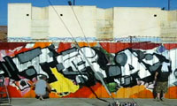 Trav & Dame Graffiti Video