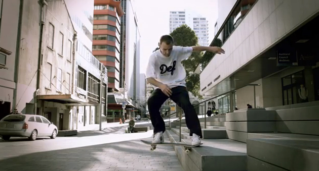 def skateboarding video slow motion