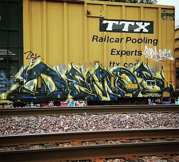 demos graffiti boxcar ttx
