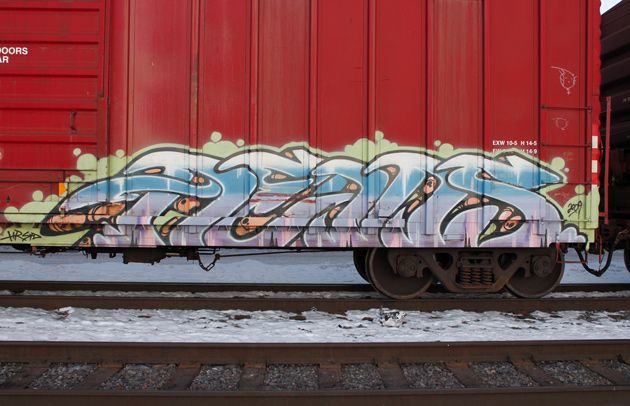 dems freight graffiti