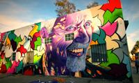 MadSteez & Mar Paint Dennis Hopper Mural
