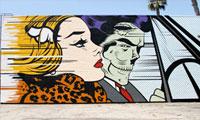 D*Face LA Mural Time-lapse