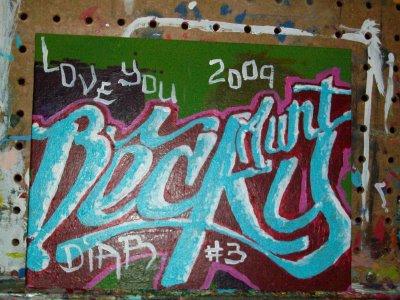 Diar Graffiti Painting