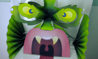 DIY Pop-up Paper Monsters