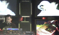 Dj mixing audio and video