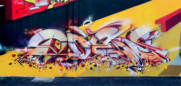 does graffiti wall france