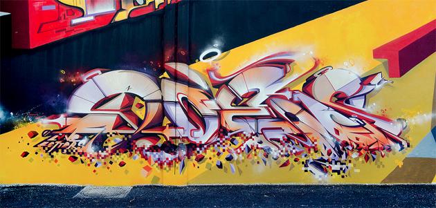 does graffiti wall france