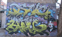 DSNC &amp; Mozie Graffiti in Toronto