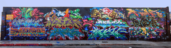 Los Angeles Graffiti Wall