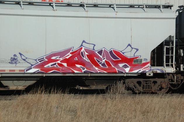 each graffiti