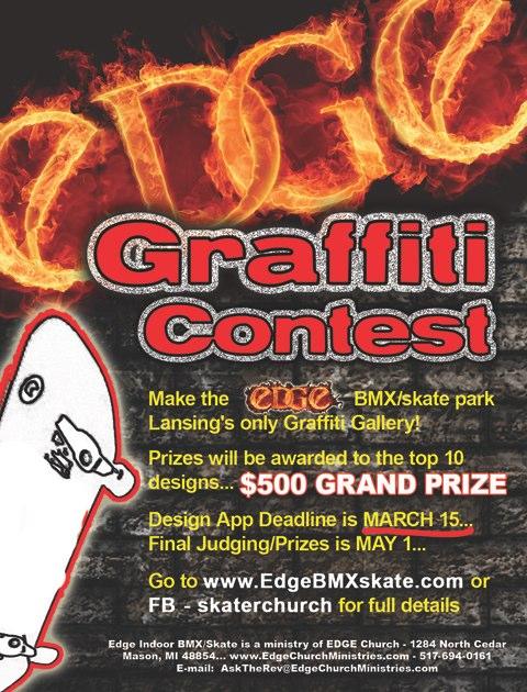 edge graffiti contest