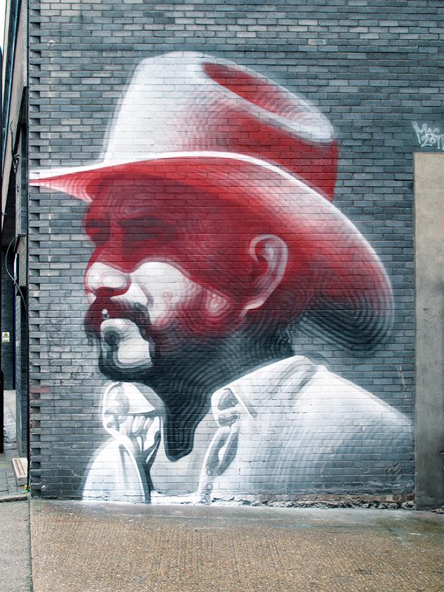 el mac london mural graffiti