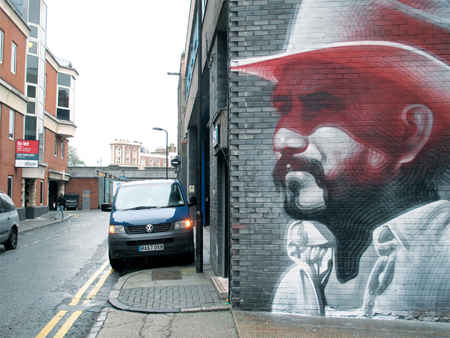el mac london mural