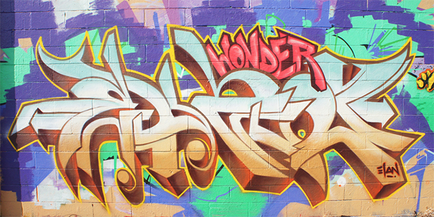 elan graffiti wall wonder
