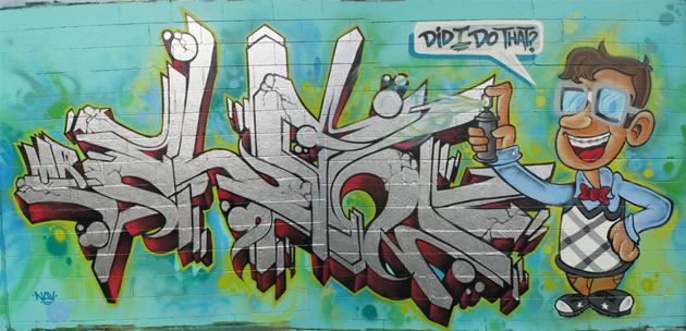 elan nerd graffiti