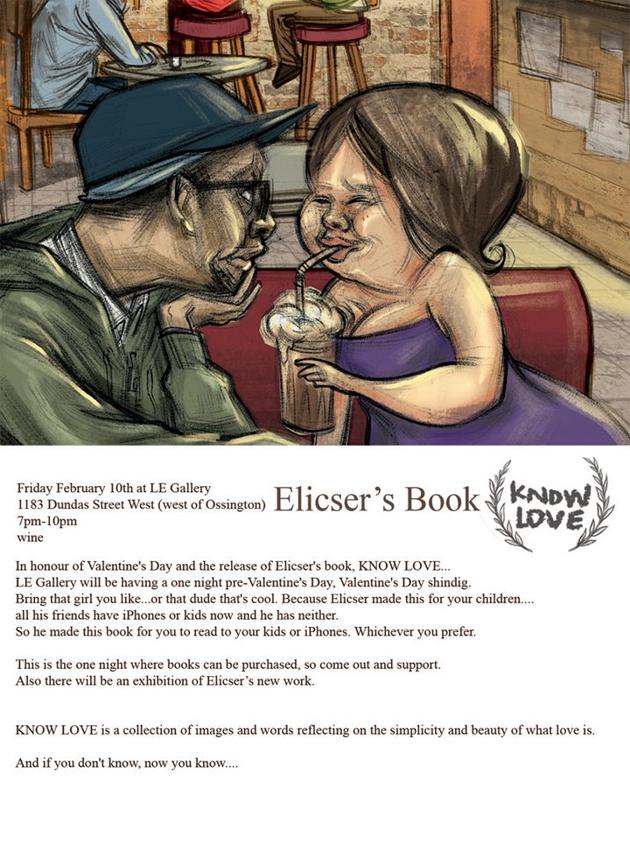 elicser book release poster