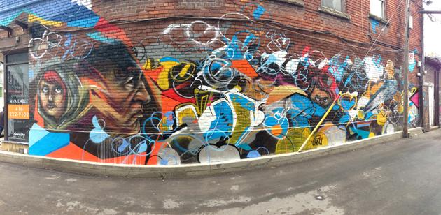 elicser chou graffiti panorama