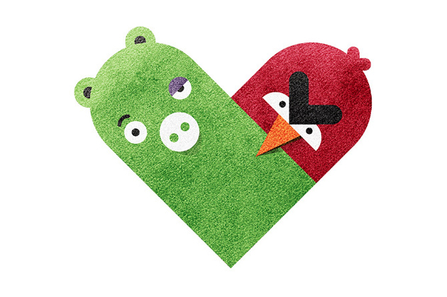 enemy hearts angry birds
