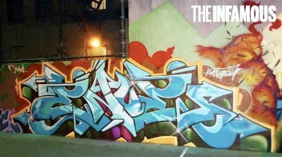 enue graffiti