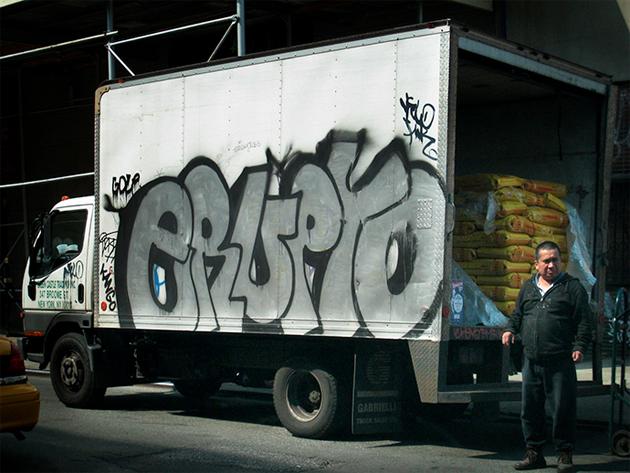 erupto graffiti truck
