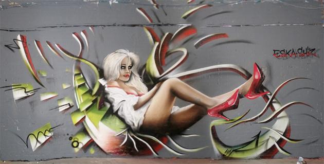 eska shiz graffiti london