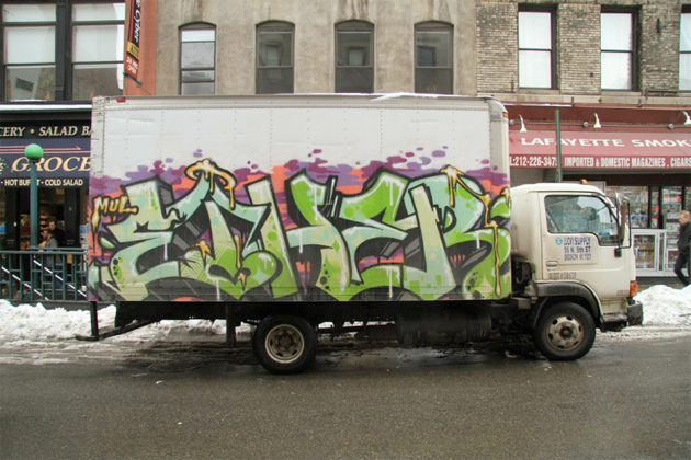 ether graffiti truck