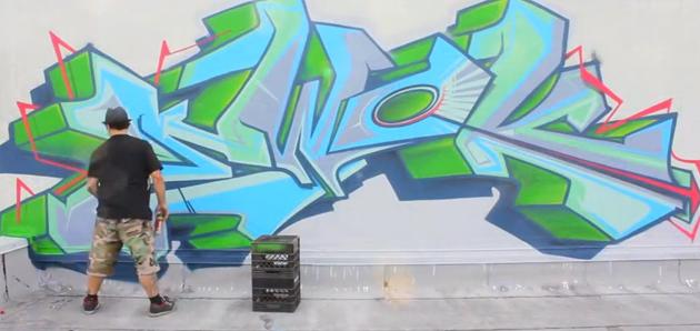 ewok graffiti miami