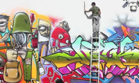 Ewok 5MH Graffiti in Miami
