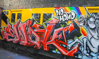 Ewok 5MH Graffiti Video NYC