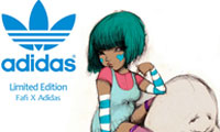 Fafi Limited Adidas Collection