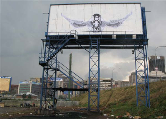 Faith47 Graffiti Billboard