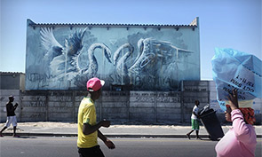 New Faith47 Mural in South Africa