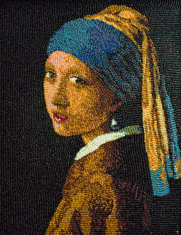 Famous Art Recreated Using Jelly Beans | Senses Lost