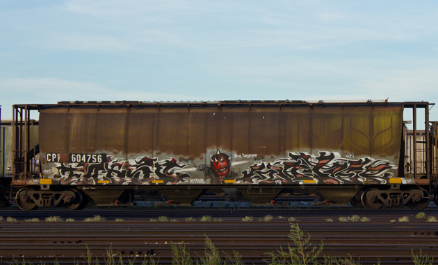 fatso water hopper graffiti