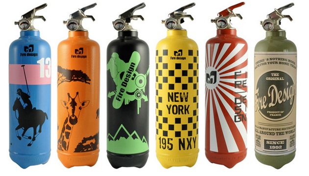 fire design extinguishers