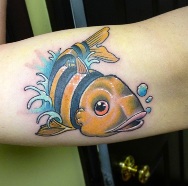 fish tattoo by will carr
