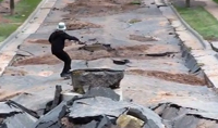 Duluth Flood Skateboarding